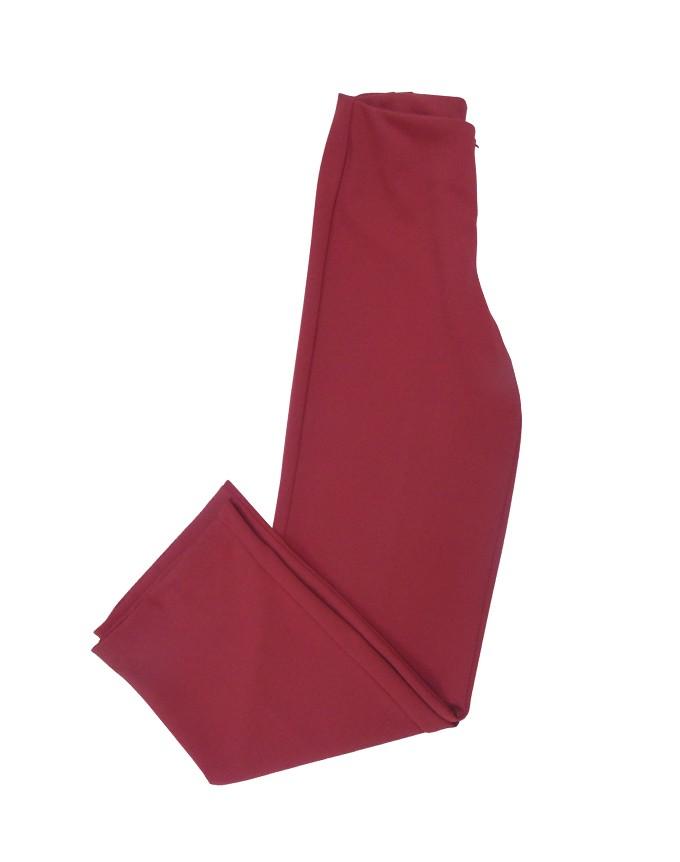 Pantalon con cierre invisible