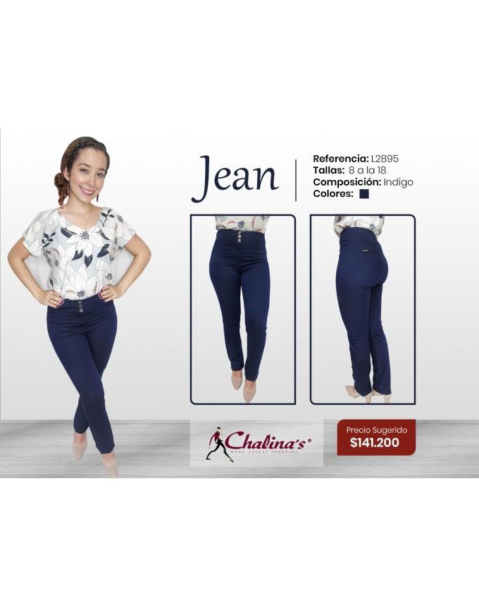 Jean con pretina ancha