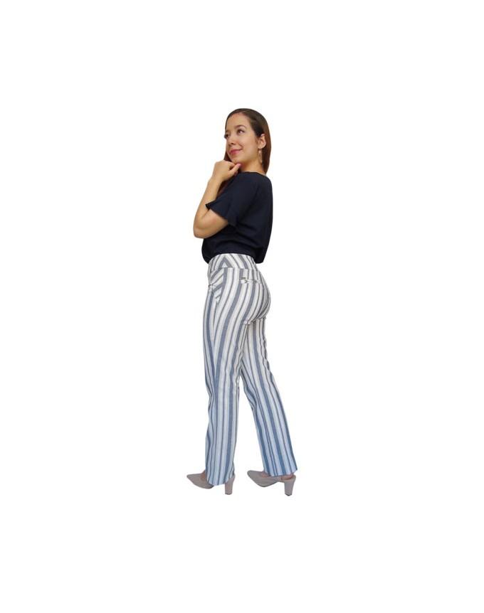 Pantalón en rayas
